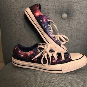 Galaxy Print Converse